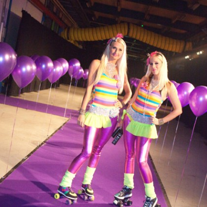 Flashing 80s party rollergirls.jpg